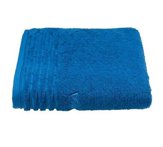 RUČNÍK PRO HOSTY, 30/50 cm, modrá - modrá, Basics, textil (30/50cm) - Vossen