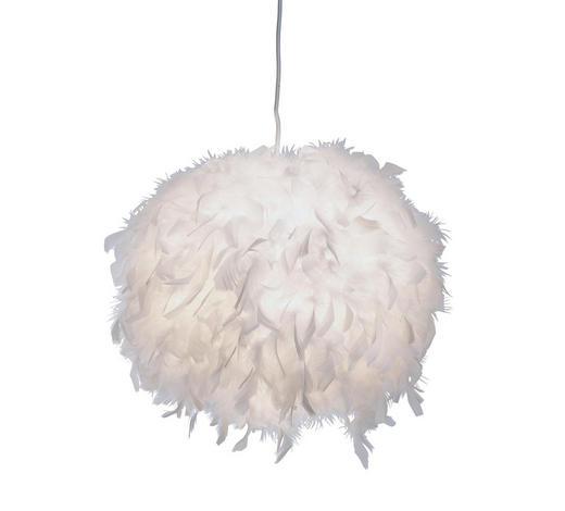 HÄNGELEUCHTE - Weiß, Design, Naturmaterialien/Papier (40cm) - Boxxx