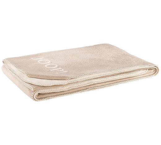 WOHNDECKE 150/200 cm Creme, Sandfarben  - Sandfarben/Creme, Basics, Textil (150/200cm) - Joop!