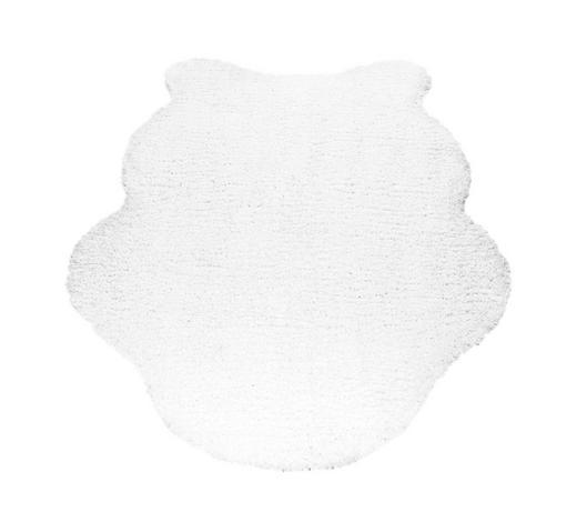 KUNSTFELL - Creme, Trend, Kunststoff/Textil (80/120cm) - Boxxx