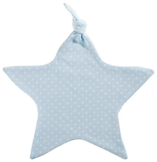 SCHMUSETUCH - Blau/Weiß, Basics, Textil (25cm) - My Baby Lou