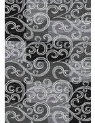 TKANI TEPIH - crna, Design, tekstil/daljnji prirodni materijali (120 /170cm)