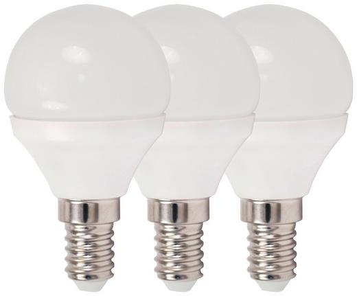 LED-LEUCHTMITTEL  E14 4 W - Weiß, Basics, Kunststoff/Metall (4,5/7,9cm) - Boxxx