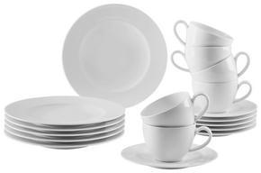 KAFFESERVIS - vit, Design, keramik - Seltmann Weiden