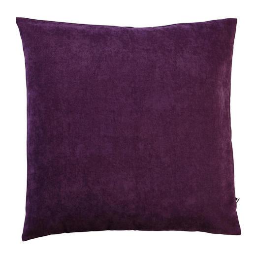 KISSENHÜLLE Lila, Rot 40/40 cm - Lila/Rot, Basics, Textil (40/40cm) - Novel
