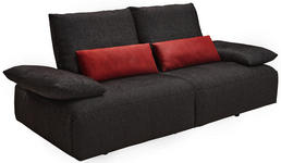 2,5-SITZER Anthrazit - Anthrazit, Design, Textil (226/86/104cm) - Dieter Knoll