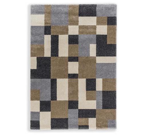 WEBTEPPICH - Beige/Braun, KONVENTIONELL, Textil (160/230cm) - Schöner Wohnen