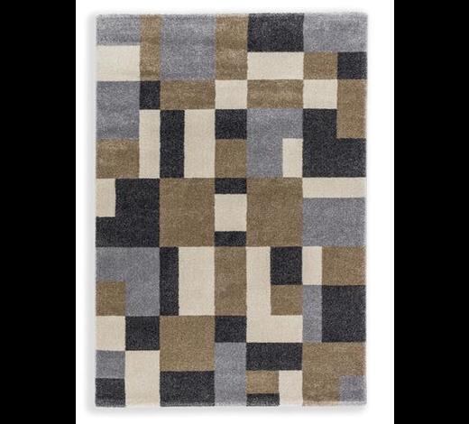 WEBTEPPICH - Beige/Braun, KONVENTIONELL, Textil (133/190cm) - Schöner Wohnen