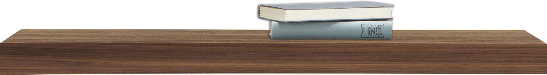 WANDBOARD in Nussbaumfarben - Nussbaumfarben, Basics, Holz (90/25cm)