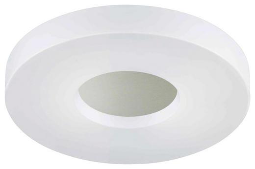LED-DECKENLEUCHTE - Alufarben/Weiß, KONVENTIONELL, Kunststoff (35cm)