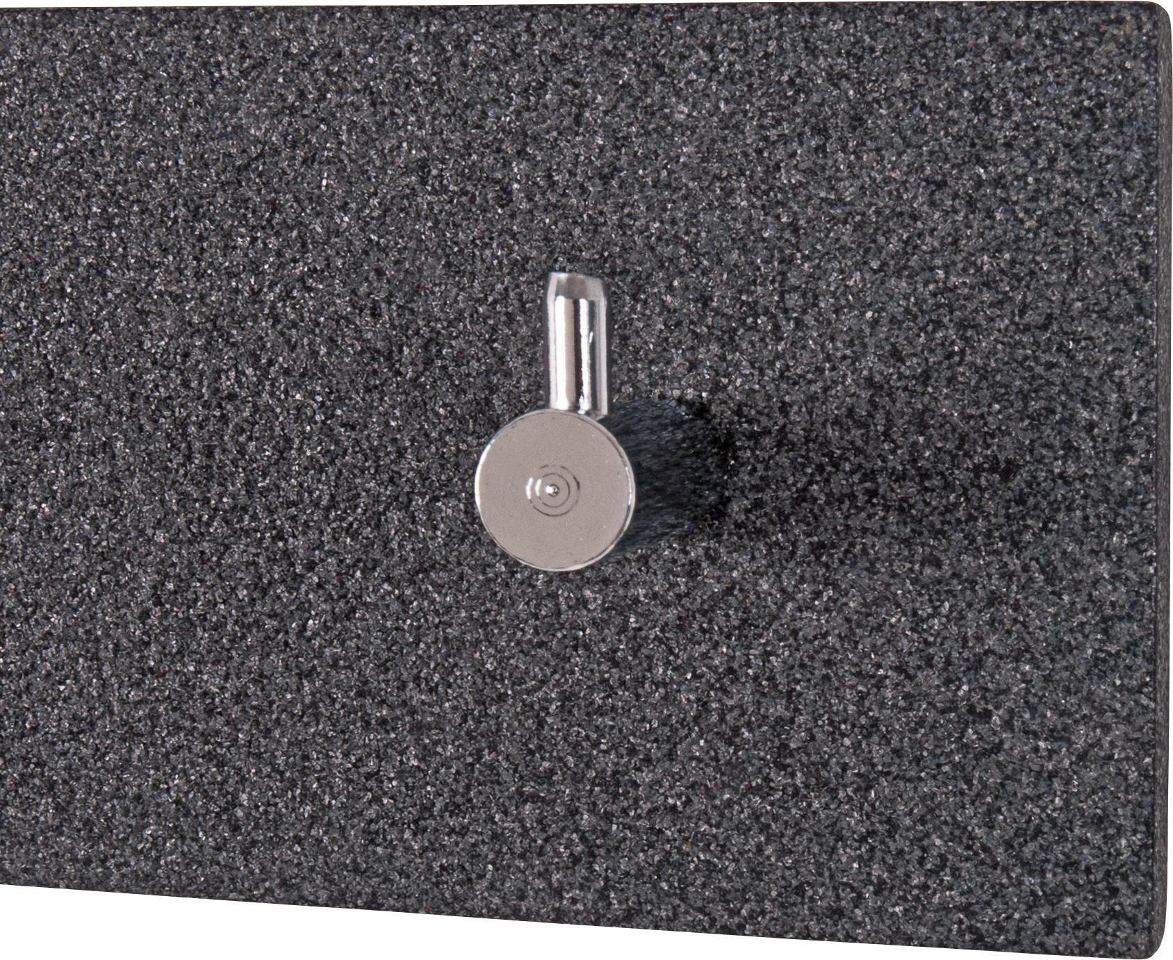 VJEŠALICA - siva/boje kroma, Design, drvni materijal/metal (57/8/5cm)
