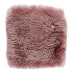 SITZKISSEN Pink 34/34 cm  - Pink, KONVENTIONELL, Textil/Fell (34/34cm) - Esposa