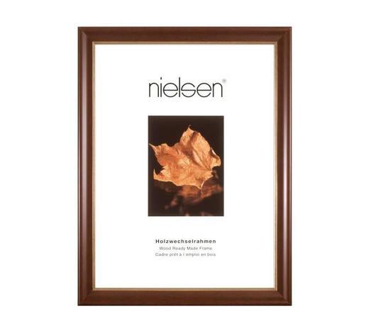 BILDERRAHMEN  Dunkelbraun  - Dunkelbraun, Basics, Holz (50/60cm) - Nielsen