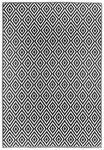 LÄUFER  90/150 cm  Schwarz, Weiß - Schwarz/Weiß, Trend, Textil (90/150cm) - Boxxx