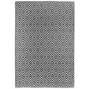 OUTDOORTEPPICH  In-/ Outdoor  Schwarz, Weiß - Schwarz/Weiß, Trend, Textil (90/150cm) - Boxxx