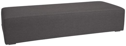 GARTENLIEGE Aluminium Dunkelgrau - Dunkelgrau, Basics, Textil/Metall (80/42/200cm) - Stern