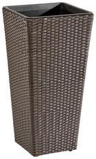 PFLANZENTOPF Kunststoff, Metall - Braun, Kunststoff/Metall (36/70/36cm) - AMBIA GARDEN