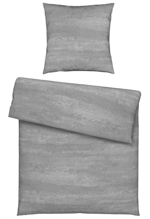 BETTWÄSCHE Jersey Silberfarben 135/200 cm - Silberfarben, Design, Textil (135/200cm) - Novel