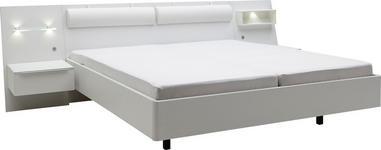 BETTANLAGE 180/200 cm - Weiß, Design (180/200cm) - Dieter Knoll