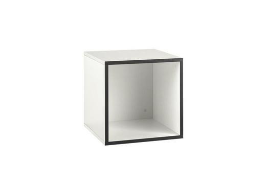 REGALELEMENT Weiß - Weiß, Design (37,5/37,5/37,5cm) - Hülsta - Now