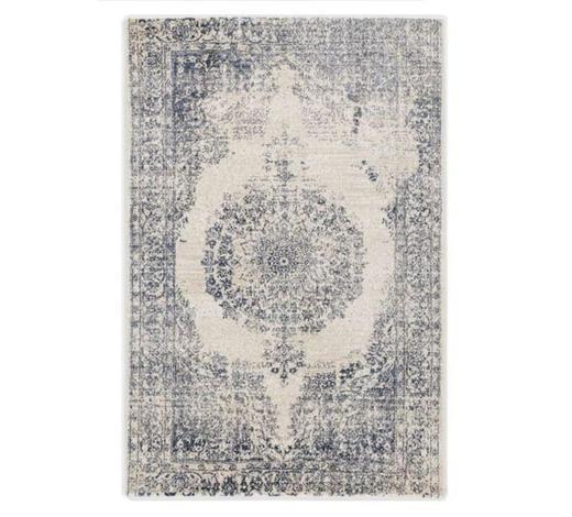 VINTAGE-TEPPICH - Blau/Creme, LIFESTYLE, Textil (240/340cm) - Novel