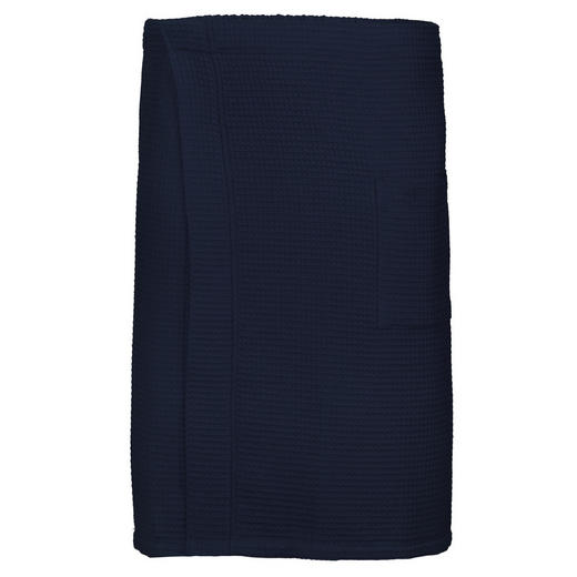 SAUNAKILT - Blau, Basics, Textil (60/140cm) - Vossen