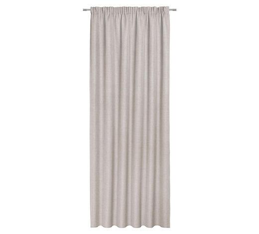 FERTIGVORHANG blickdicht  - Beige, KONVENTIONELL, Textil (140/300cm) - Esposa