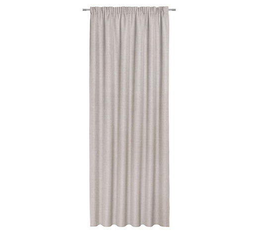 ZÁVĚS, neprůsvitné, 140/300 cm - béžová, Konvenční, textil (140/300cm) - Esposa