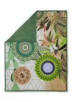 DECKE 130/160 cm Grün, Multicolor - Multicolor/Grün, Textil (130/160cm)