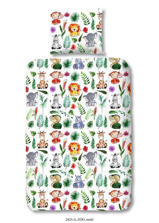 KINDERBETTWÄSCHE Renforcé Multicolor 100/135 cm - Multicolor, Trend, Textil (100/135cm)