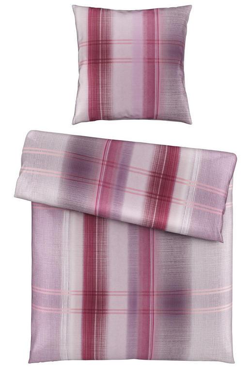 BETTWÄSCHE Satin Violett 155/220 cm - Violett, Design, Textil (155/220cm) - Novel