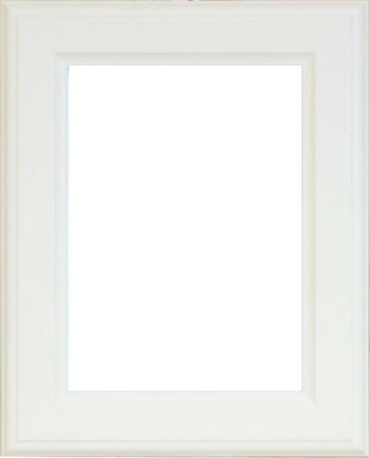 BILDERRAHMEN in Weiß - Weiß, Basics, Glas/Holz (50/40/1.7cm)