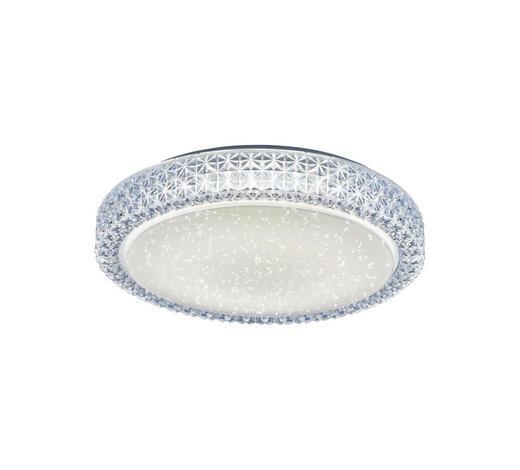 STROPNA LED SVETILKA FRIDA - prosojna, Design, umetna masa (40/40/11cm)