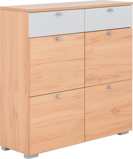 SCHUHKIPPER matt Buchefarben, Grau - Buchefarben/Silberfarben, Design, Metall (98/100/34cm) - CASSANDO