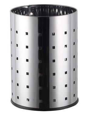 PAPPERSKORG - rostfritt stål-färgad, Basics, metall (21/28cm) - Homeware