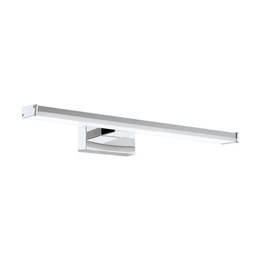 STENSKA LED SVETILKA PANDELLA - bela/srebrna, Design, kovina/umetna masa (40/4cm)