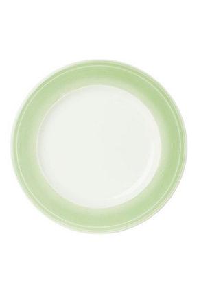 MATTALLRIK - vit/ljusgrön, Design, keramik (28,1cm) - Novel