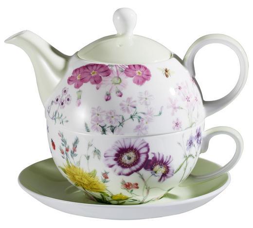 TEA-FOR-ONE-SET - Hellrosa/Gelb, Basics, Keramik - Landscape