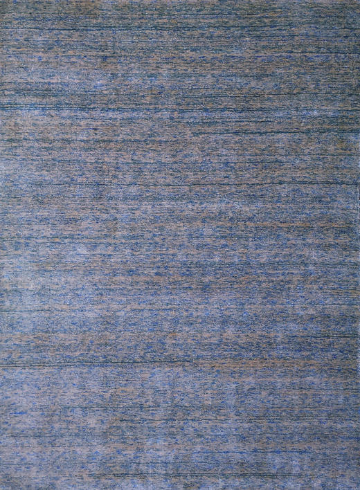 TEPPICH  90/160 cm  Blau, Grau - Blau/Grau, Basics, Kunststoff/Weitere Naturmaterialien (90/160cm)