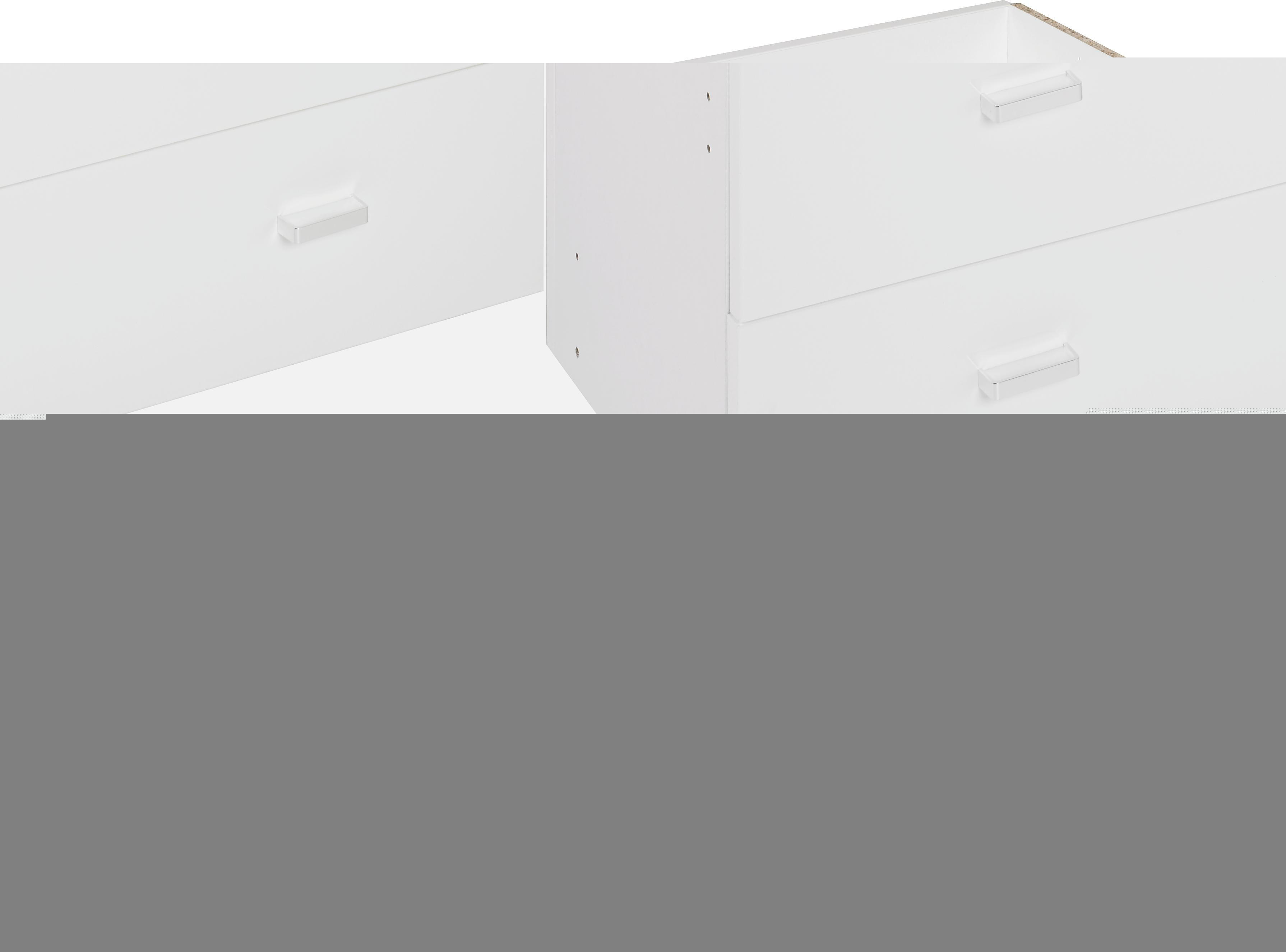 SCHUBKASTENEINSATZ - Weiß, Design, Holzwerkstoff (74/35/33cm)