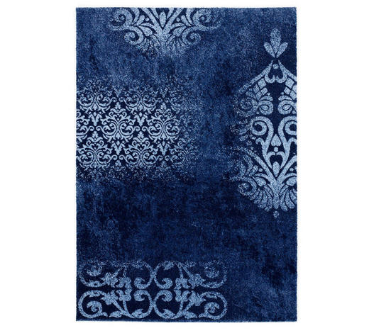WEBTEPPICH  200/200 cm  Blau - Blau, Basics, Textil (200/200cm) - Novel