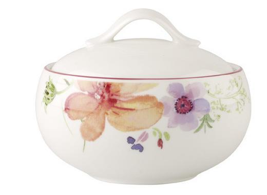 POSUDA ZA ŠEĆER - bijela/višebojno, Basics, keramika (0,45l) - VILLEROY & BOCH