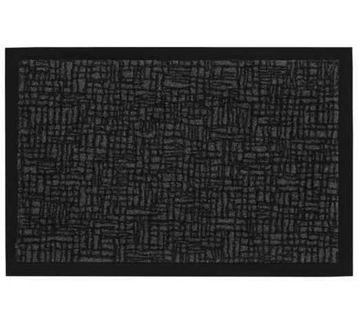 FUßMATTE 60/80 cm - Anthrazit, KONVENTIONELL, Kunststoff/Textil (60/80cm) - Esposa