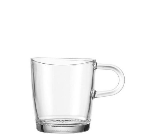 KAFFEEGLAS 300 ml - Klar, KONVENTIONELL, Glas (11.5/8.5/8cm) - Leonardo