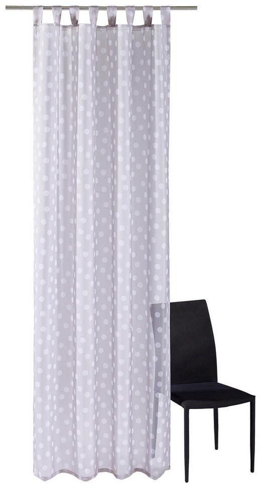 SCHLAUFENSCHAL  halbtransparent   140/255 cm - Taupe, Textil (140/255cm)
