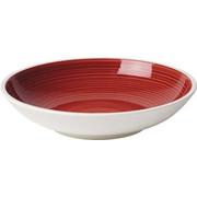 PASTATELLER Keramik Porzellan  - Rot/Weiß, Keramik (23,5cm) - Villeroy & Boch