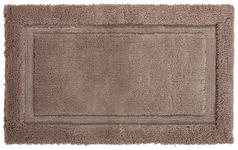 BADEMATTE  Taupe  60/100 cm     - Taupe, KONVENTIONELL, Textil (60/100cm) - Esposa
