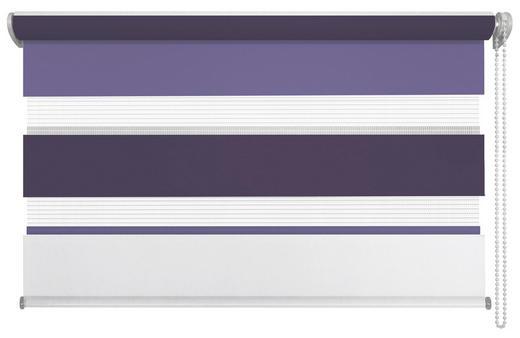 DUOROLLO  halbtransparent  140/160 cm - Beere/Violett, Basics, Kunststoff (140/160cm) - Homeware
