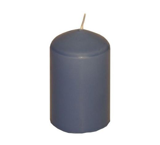 SVÍČKA - modrá, Basics (4,7/8cm) - Steinhart