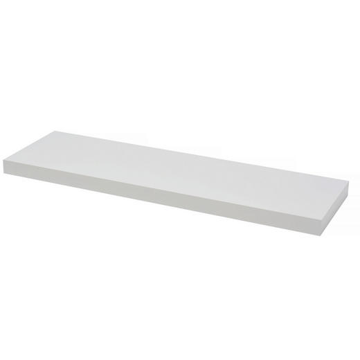 WANDBOARD Weiß - Weiß, Design (80/23,5/3,8cm)